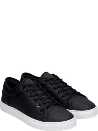 Etq Lt 01 Sneakers In Black Leather
