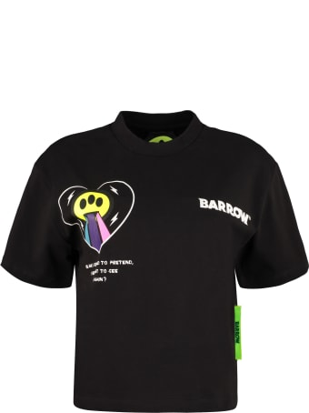 Barrow Logo Detail Cropped T-shirt