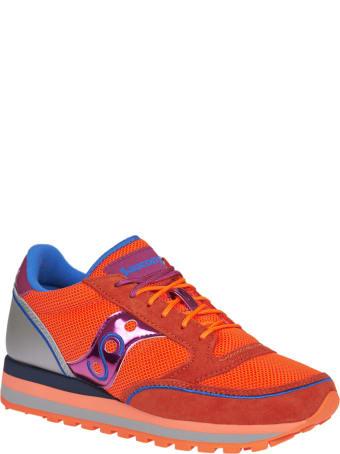 Saucony Orange And  Grey Sneakers Jazz