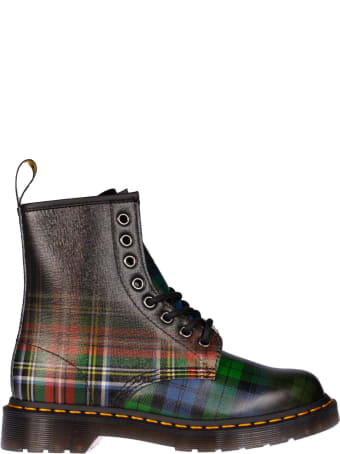 Dr. Martens Tartan Ankle Boots