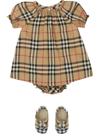 Burberry Vintage Check Print Dress