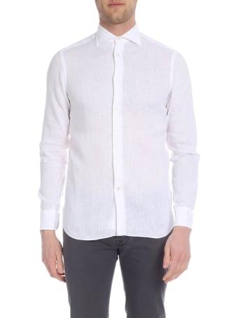Borriello Napoli Classic Collar Linen Shirt