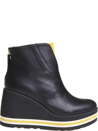 Paloma Barcelò Paloma Barcelo Sonya Ankle Boot In Black Leather