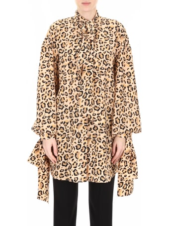 Rokh Shirt With Leopard Print