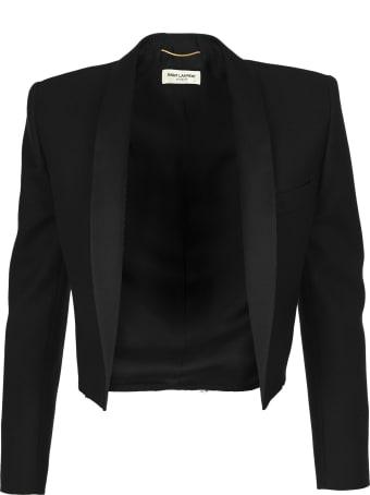 Saint Laurent Cropped Tuxedo Balzer