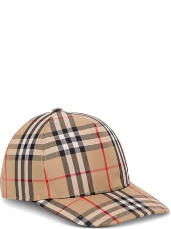 Burberry Vintage Check Cotton Hat