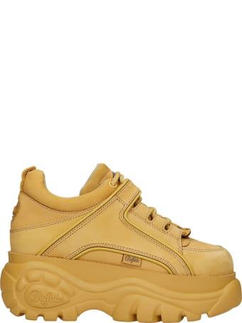 Buffalo Sneakers In Beige Nubuck