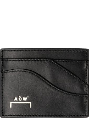 A-COLD-WALL Small Leather Flap-over Wallet