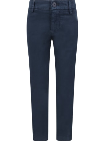 Dondup Blue ''perfect''pants For Girl With Iconic D