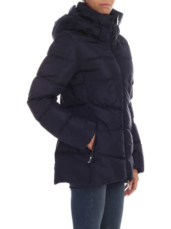 Add Fitted Zipped Padded Jacket