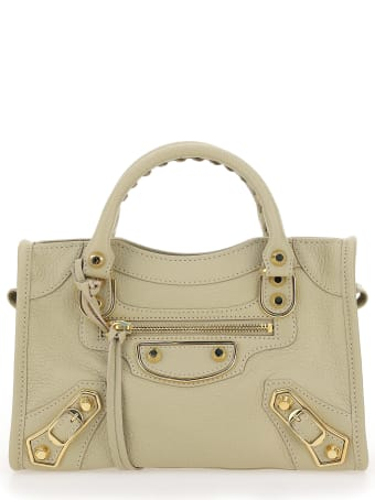 Balenciaga Classic Metallic Edge City Mini Handbag