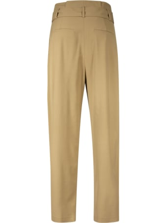RED Valentino Belted Waist High Trousers