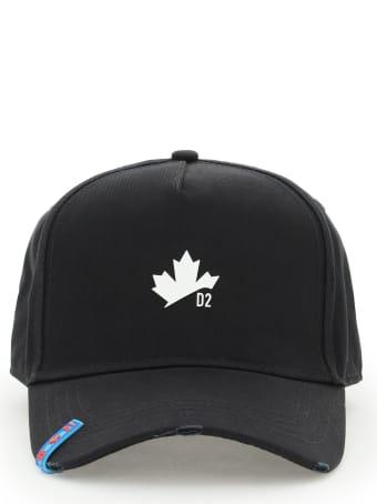 Dsquared2 D2 Leaf Baseball Cap