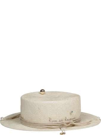 Ruslan Baginskiy Straw Fedora Hat