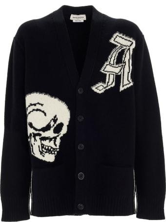 Alexander McQueen 'skull' Cardigan