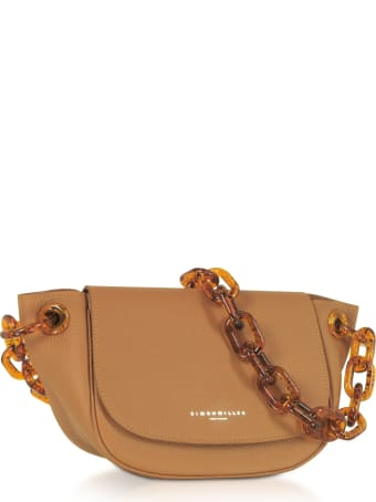 Simon Miller Grained Leather Bend Bag