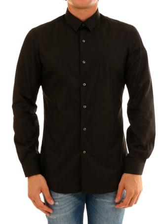 Vangher White Black Shirt