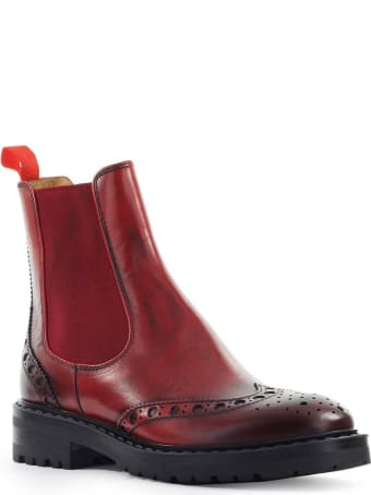 Barracuda Aged Red Chelsea Boot