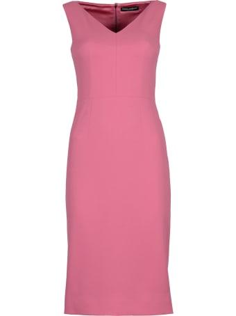Dolce & Gabbana Crepe Sheath Dress