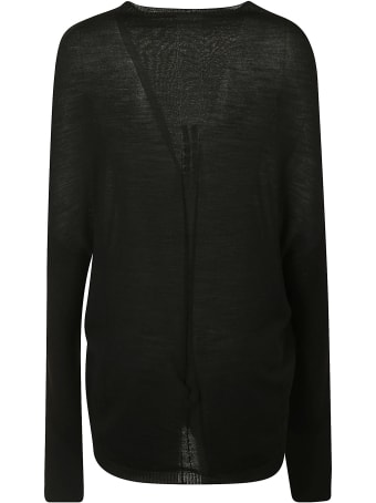 Rick Owens Crater Knit Pullover