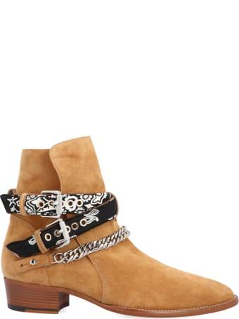 AMIRI 'bandana Buckle' Shoes