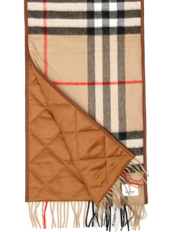 Burberry Quilted Giant Check Scarf