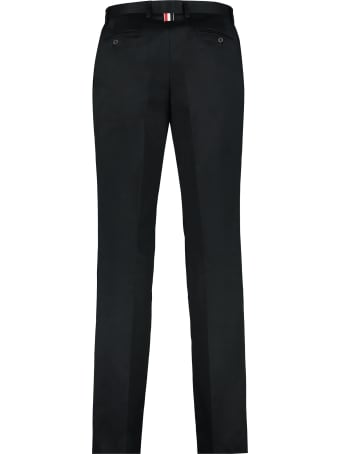 Thom Browne Cotton Gabardine Trousers