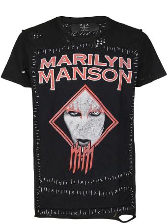 Marc Jacques Burton Black Cotton T-shirt