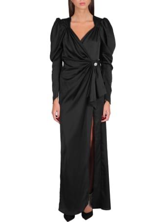 Nineminutes Puff Sleeves Long Dress