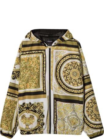 Young Versace Baroque Print Jacket