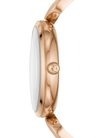 Armani Collezioni Armani Exchange Brooke Rose Gold Tone Bracelet Watch