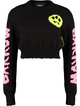 Barrow Cropped Wool Blend Sweater