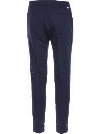 Paolo Pecora Blue-colored Trousers