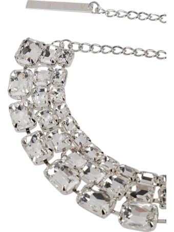 AREA Silver-tone Brass Necklace