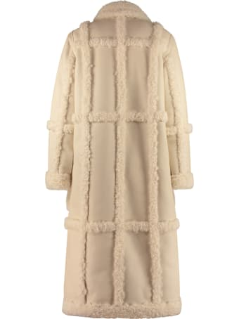 STAND STUDIO Patrice Faux-shearling Coat