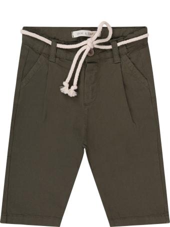 Zhoe & Tobiah Military Green Babyboy Pants