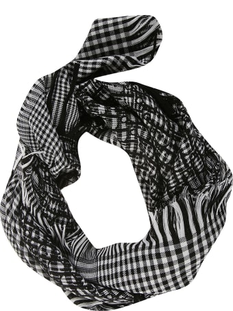 Dior Homme Checked Scarf