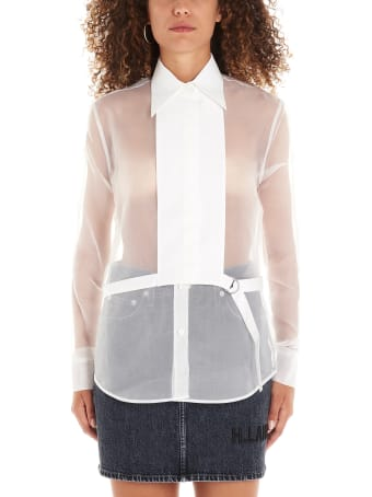 Helmut Lang 'detachable Bib' Shirt