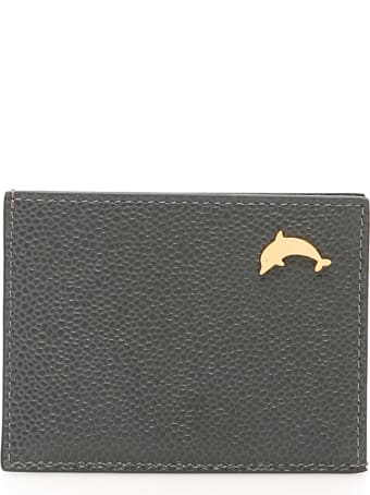 Thom Browne Card Holder Dolphin Stud