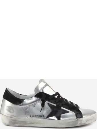 Golden Goose Superstar Classic Sneakers In Laminated Leather