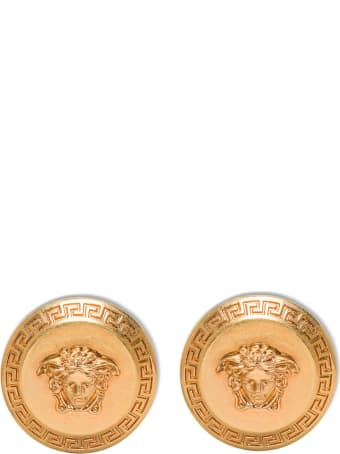 Versace Medusa Metal Earrings