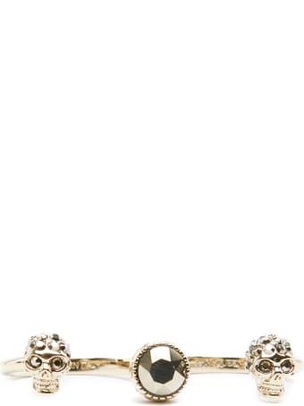 Alexander McQueen Skulls' Ring
