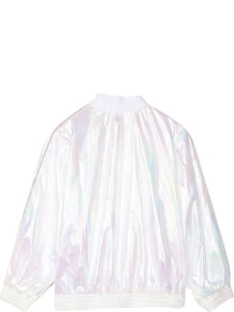 Givenchy White Bomber Jacket