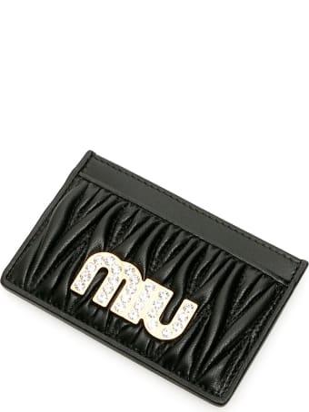 Miu Miu Miu Crystal Cardholder
