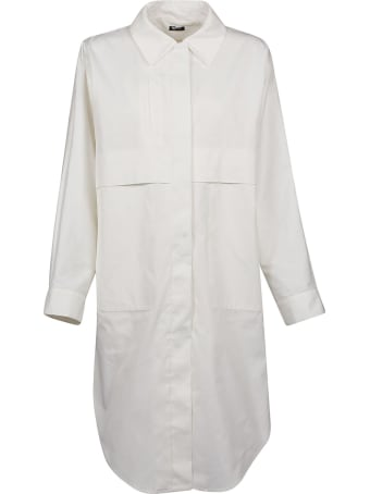 Jil Sander Navy Oversized Shirt Jacket