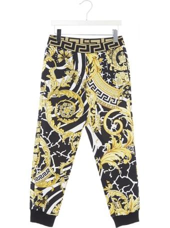Young Versace 'barocco Icon' Sweatpants