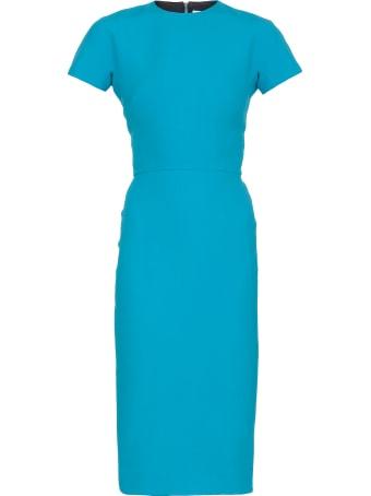 Victoria Beckham Plain Color Sheath Dress