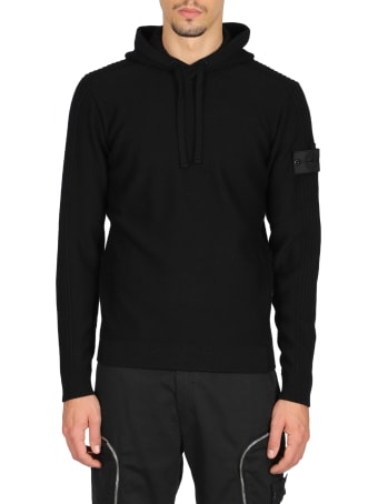 Stone Island Shadow Project Ribbed Hoodie