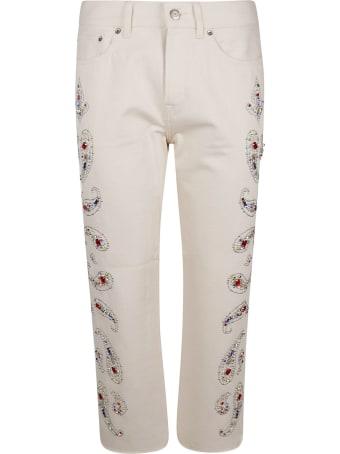 Golden Goose Paisley Embellishment Trousers