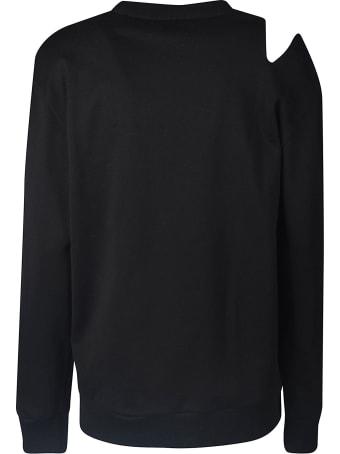 Versace Distressed Logo Sweatshirt